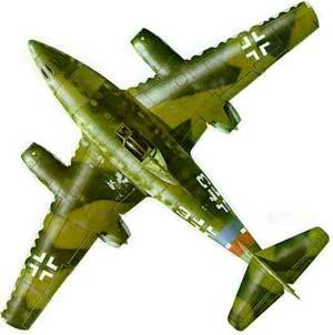جت جنگده آلماني « ام . اي  ــ 262 » كه در 1944 ساخته شد