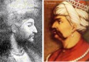 سلطان سليم در برابر شاه اسماعيل
